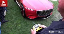 Coolest remote control car: Vision Mercedes-Maybach 6