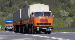 Tour of Germany with classic Mercedes-Benz trucks