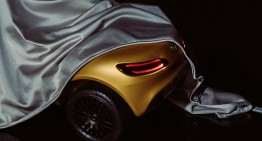 What's up your sleeve, AMG? Mysterious car partially revealed