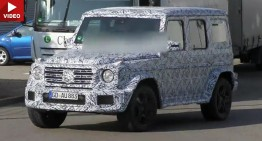 All-new Mercedes G-Class comes next year (NEW VIDEO)