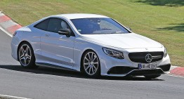 2019 Mercedes SL starts testing, gets canvas top