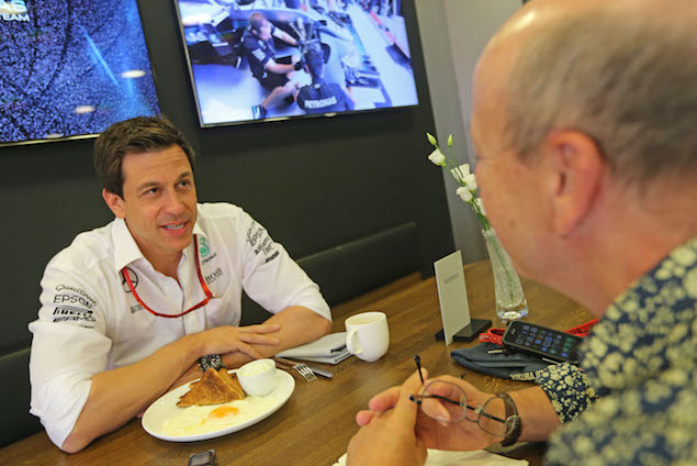 Breakfast with Toto Wolff