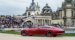 Vision Mercedes-Maybach 6 dazzles in Chantilly