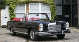 Priceless, literally! Rare Mercedes-Benz 280 SE 3.5 Cabriolet on sale