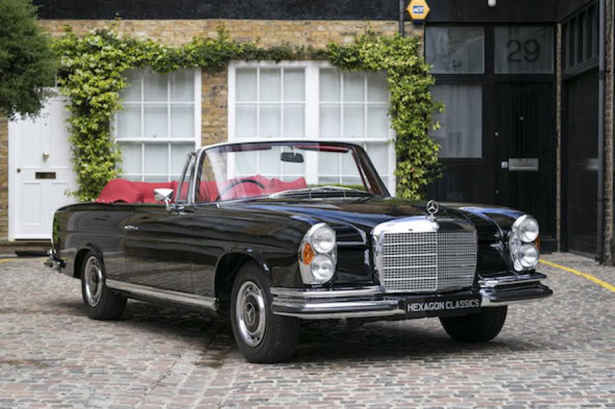 Priceless, literally! Rare Mercedes-Benz 280 SE 3.5 Cabriolet on sale