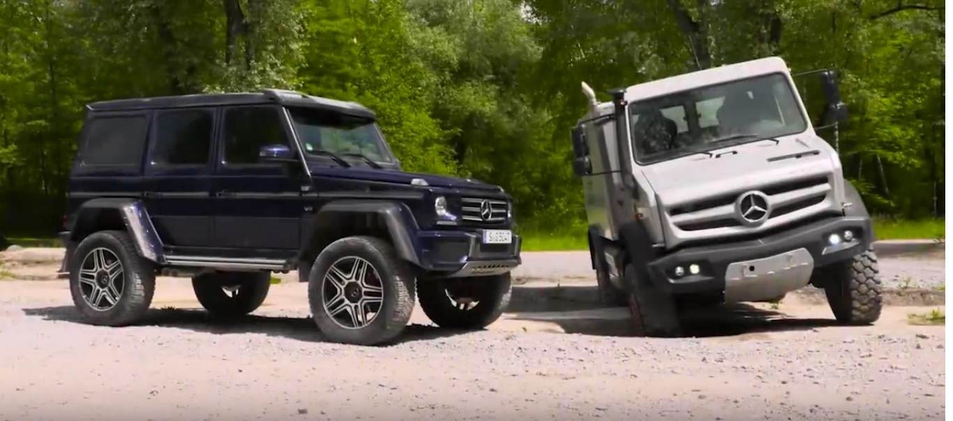 Alien Vs Predator Mercedes Benz G 500 4x4 178 And Unimog