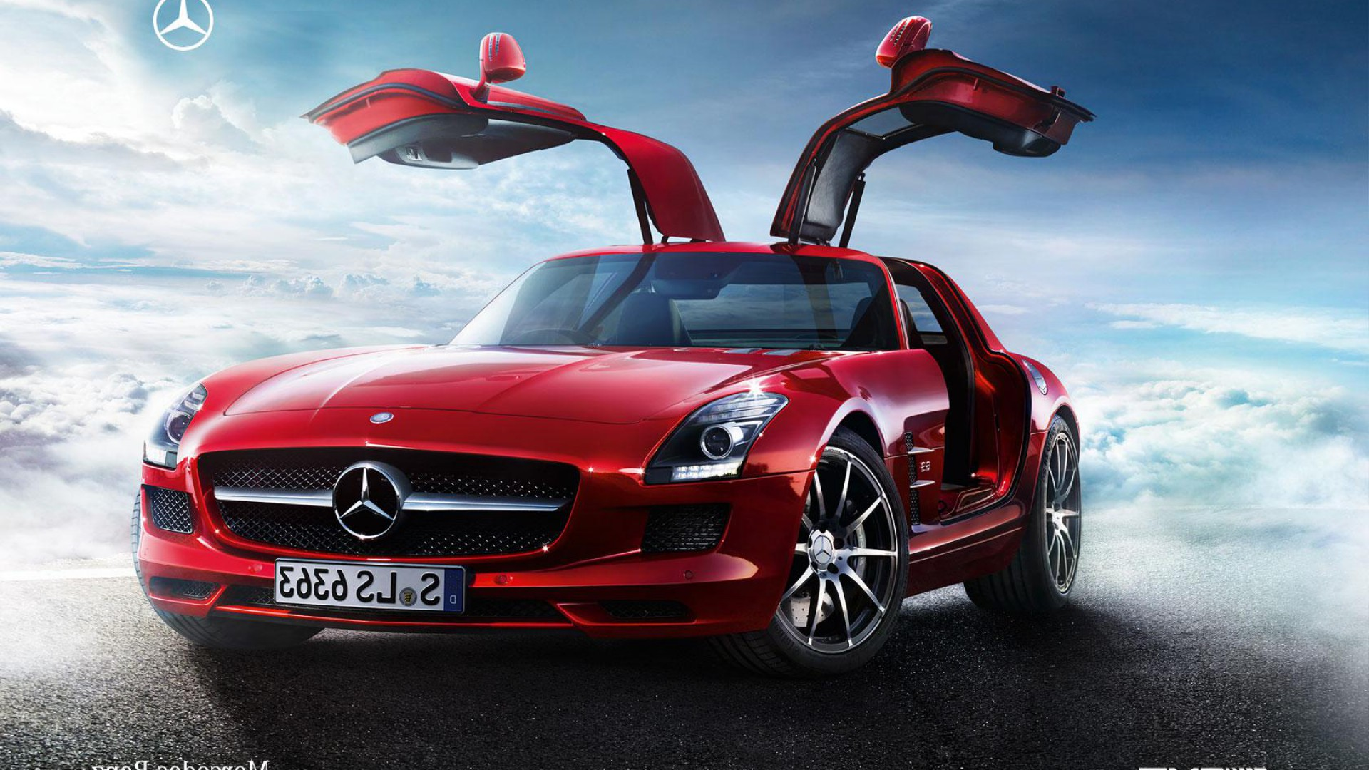 Mercedesblog 2 years online time to celebrate the for Mercedes benz sls amg red