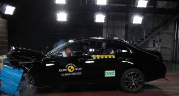 EuroNCAP: Top 5 star rating for new Mercedes E-class