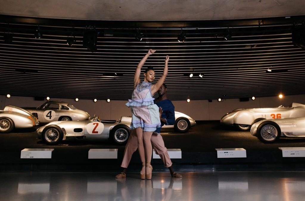 The Hiplet Ballerinas in Mercedes-Benz Fashion Creatives Episode 6