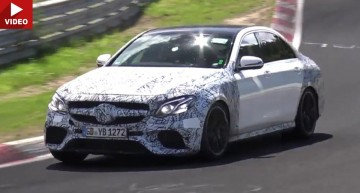 Mercedes-AMG E 63 streches its muscles on the Nurburgring