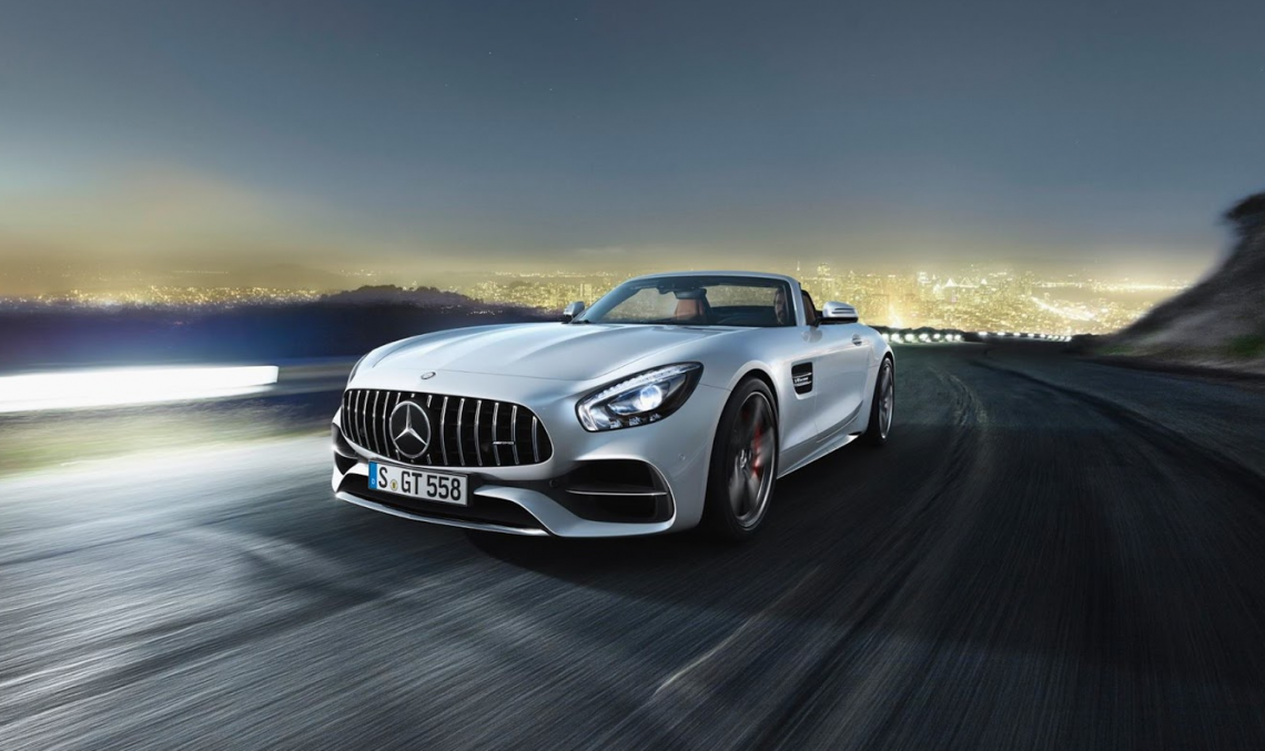Mercedes-AMG GT C Coupe with 557 hp, here next year
