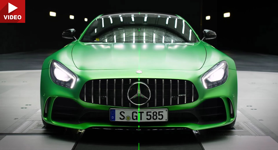 Mercedes-AMG GT R aerodynamic tricks explained by their creator