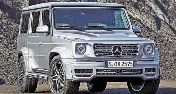 We reveal the secrets behind the all-new Mercedes G-Class