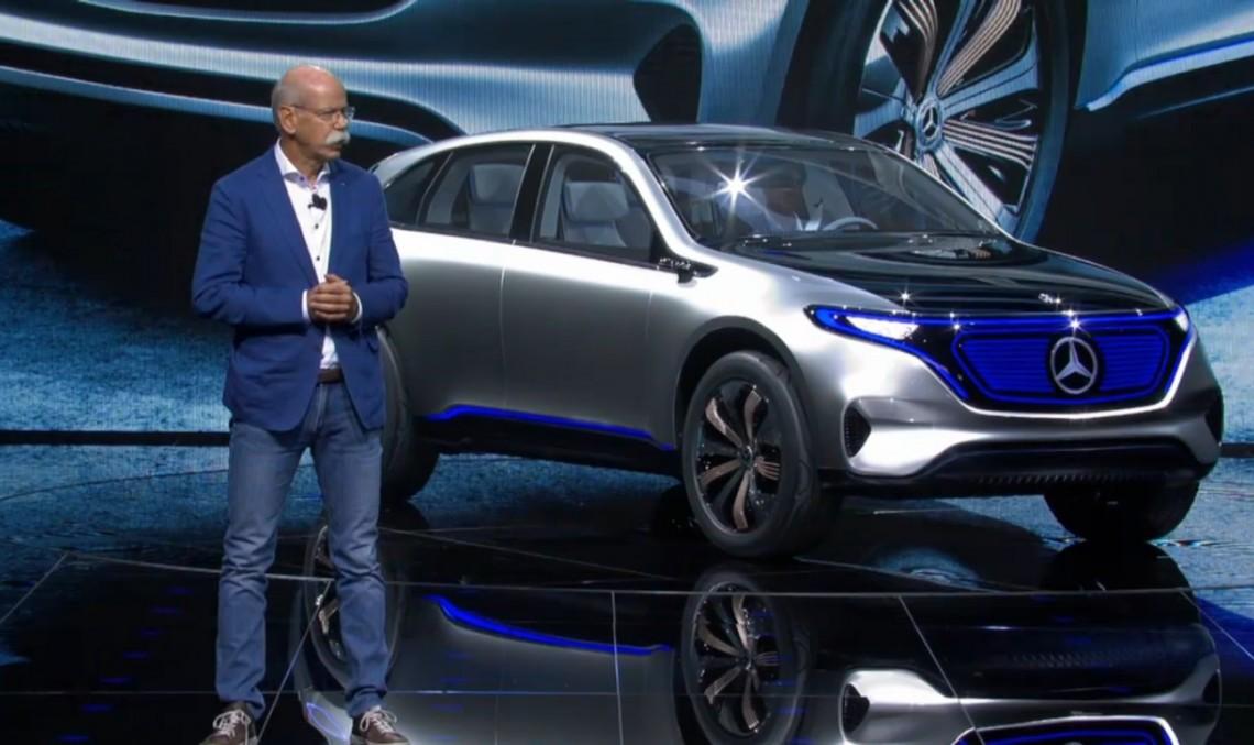 PARIS LIVE: Generation EQ kicks-off Mercedes' electric revolution