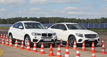 And the best SUV Coupe is… Mercedes GLC Coupe vs BMW X4