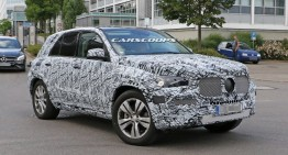 All-new 2019 Mercedes GLE is coming. New spy pics