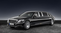 High-end protection: Mercedes-Maybach S 600 Pullman Guard