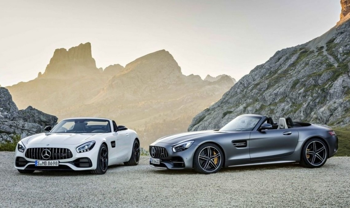 It takes two to tango – The first video of the Mercedes-AMG GT Roadster and new photo gallery