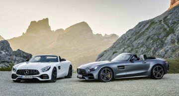 Mercedes-AMG GT R, GT C and Roadster prices announced