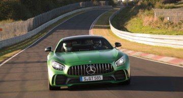 Mercedes-AMG GT Black Series already in the pipeline