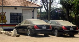 How to steal 8 S-Class sedans and get away with it?
