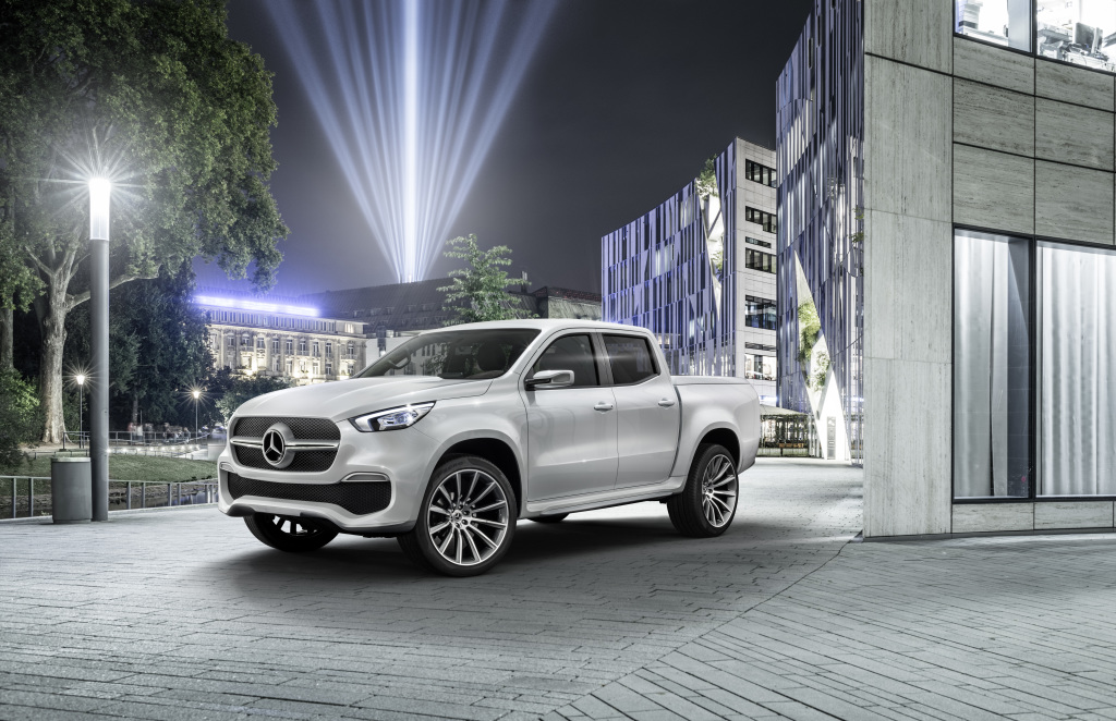 No pick-up for you! Mercedes X-class won't come to the US