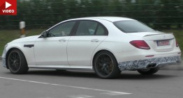 2018 Mercedes-AMG E 63 gets 612 PS, AWD – new spy video with less camo