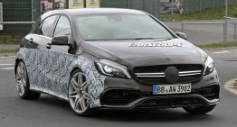 Hottest hatch? Mercedes-AMG A 45 Black Series spied