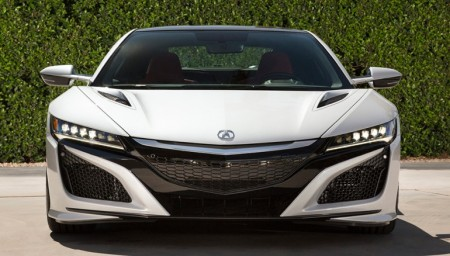 Acura NSX headlights