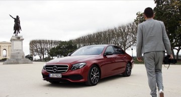 From Lisbon to Stuttgart onboard a Mercedes-Benz E-Class