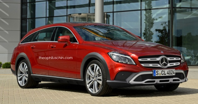 Rendered – CLS Shooting Brake reborn as an All-Terrain vehicle