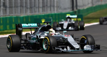 Mercedes drivers flash their way to victory in the Mexican Grand Prix