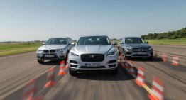 Germany vs England: New Jaguar F-Pace vs Mercedes GLC, BMW X3