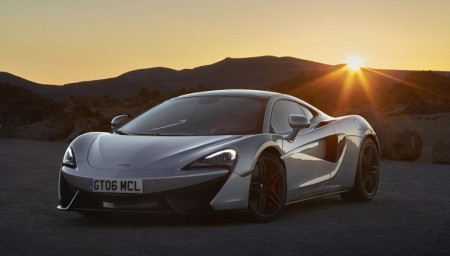 McLaren headlights
