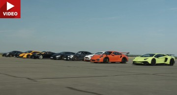 Mercedes-AMG GT S against the world in epic race