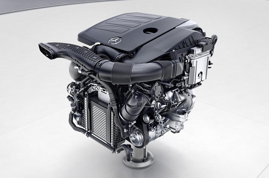 Mercedes-Benz Vierzylinder-Benzinmotor, M264 // Mercedes-Benz four-Cylinder engine, M264
