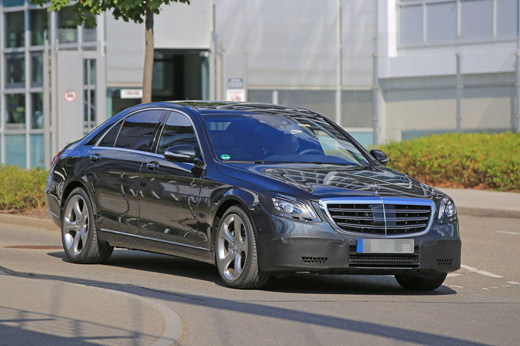 2018 Mercedes S-Class facelift – latest info and spy pics