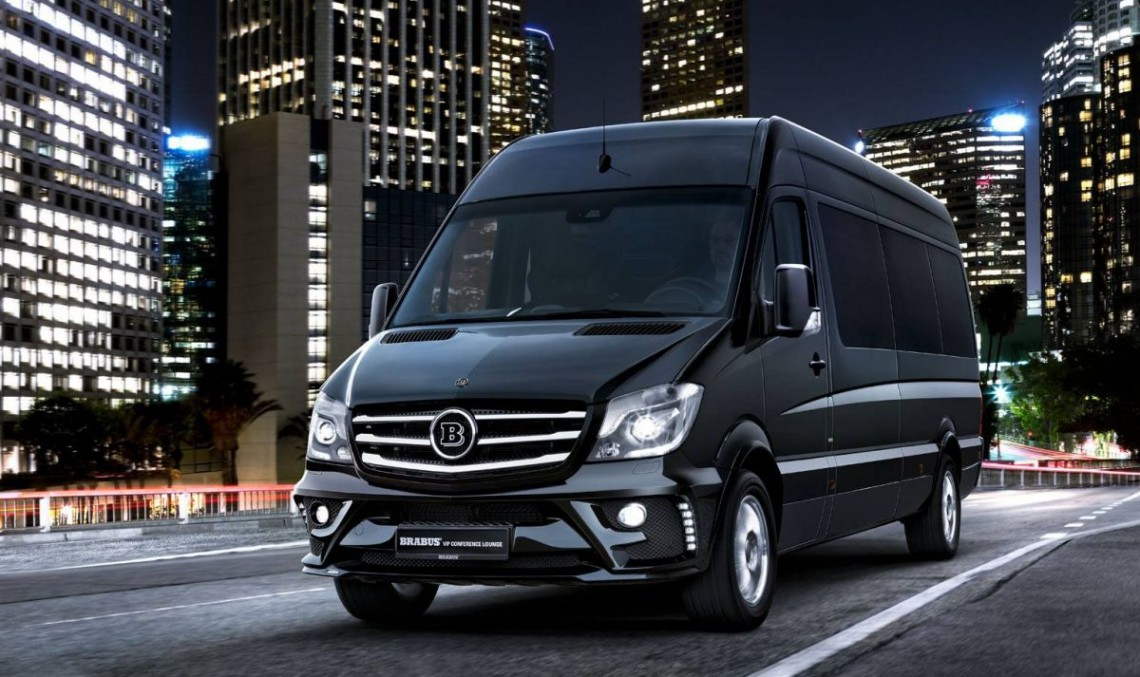 2 ton luxury: Brabus VIP Lounge Conference