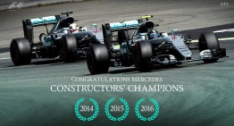 Mercedes-AMG PETRONAS – world champions again!