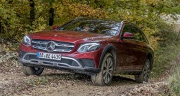 2017 Mercedes-Benz E-Class All-Terrain – first passenger ride by Autocar