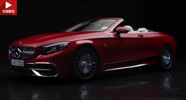 Mercedes-Maybach S 650 Cabriolet makes its video debut