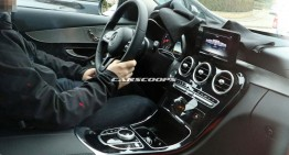 2018 Mercedes C-Class facelift interior revealed