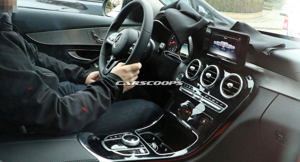 Yeni Sprinter 2018 >> 2018 Mercedes C-Class facelift interior revealed - MercedesBlog
