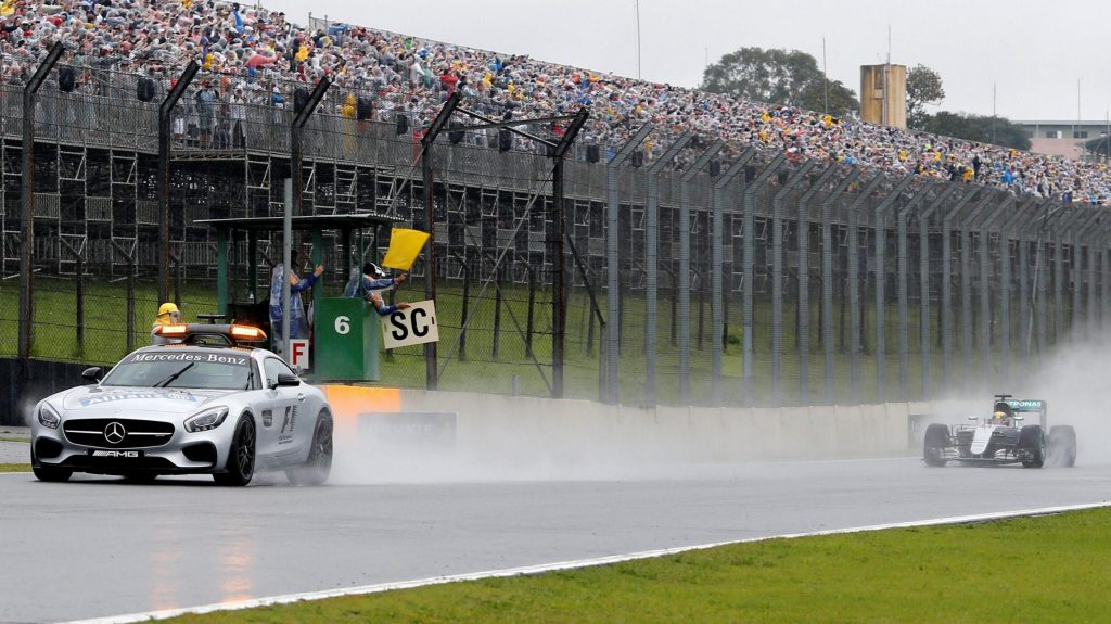 "Brazilian Grand Prix: Samba in the ""November Rain"" as Mercedes wins again"