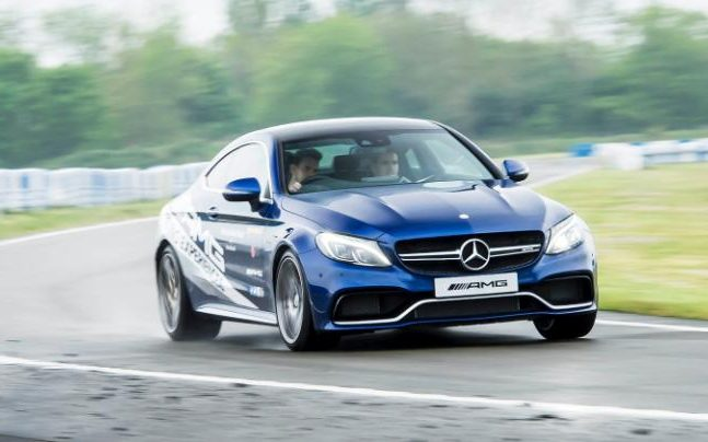A day in the life of a stunt driver at Mercedes-Benz World