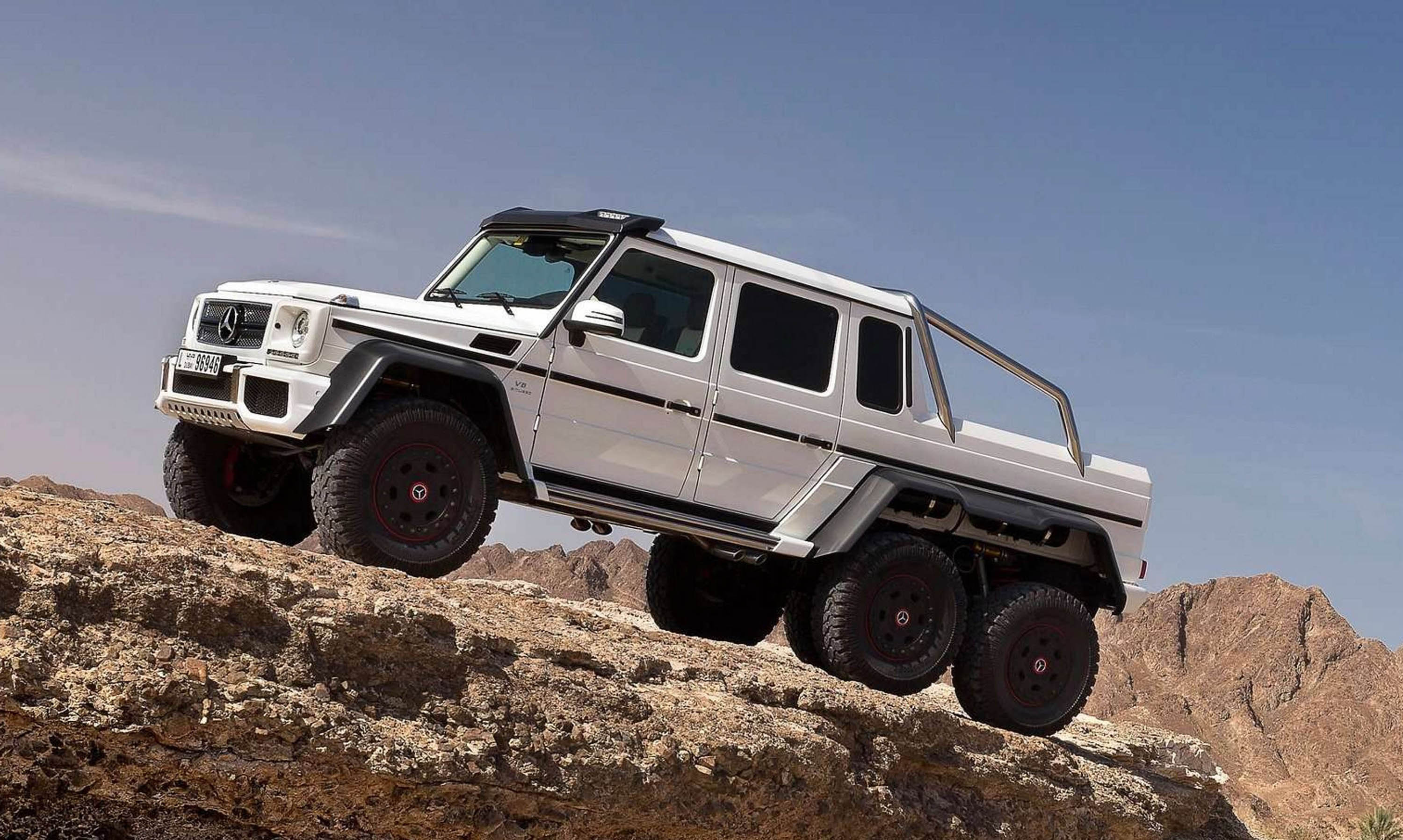 X class not the first mercedes benz pick up in history mercedesblog - Classe g 6x6 ...