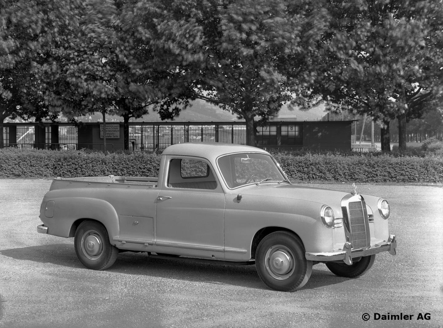 6 Passenger Vehicles >> X-Class, not the first Mercedes-Benz pick-up in history - MercedesBlog