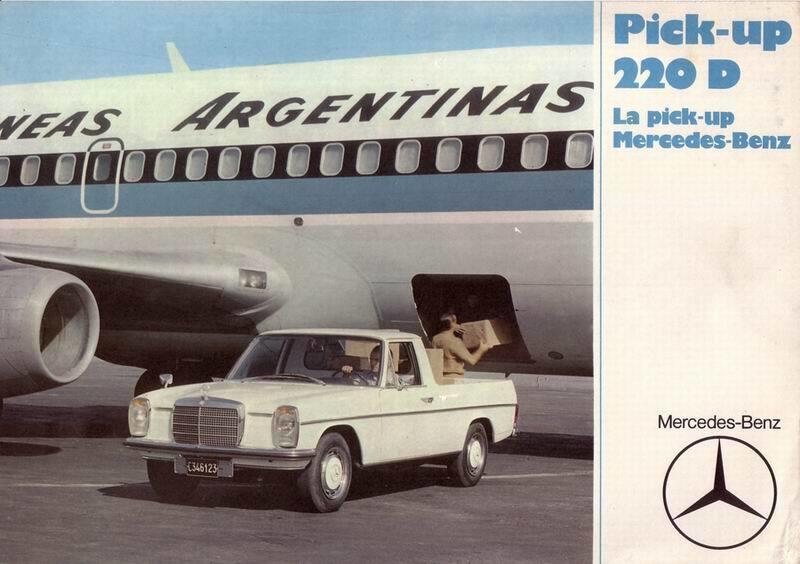Mercedes-Benz pick-up (9)