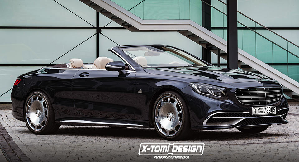 This is how the Mercedes-Maybach S650 Cabriolet might look