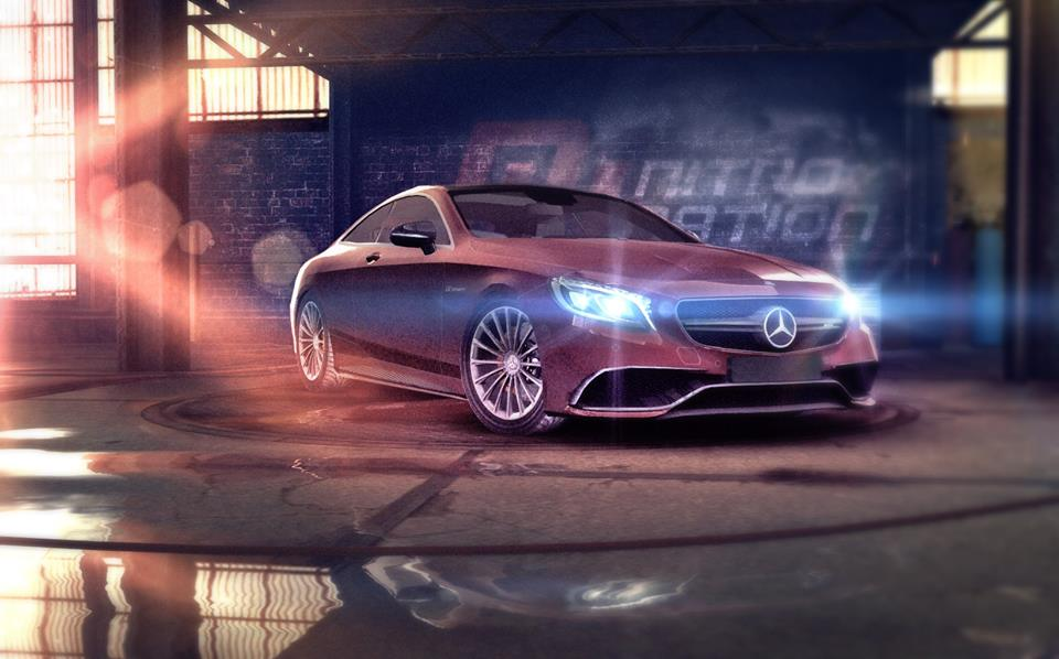 Drive the Mercedes-AMG S 65 Coupé in the Nitro Nation game